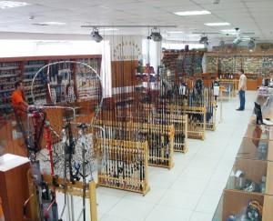 Рыболовный магазин